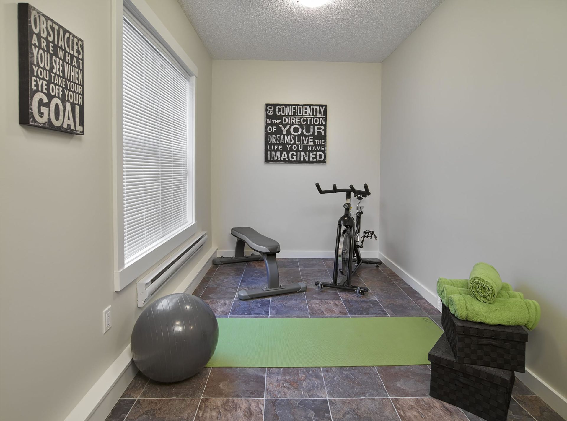 CLIO gallery exercise room